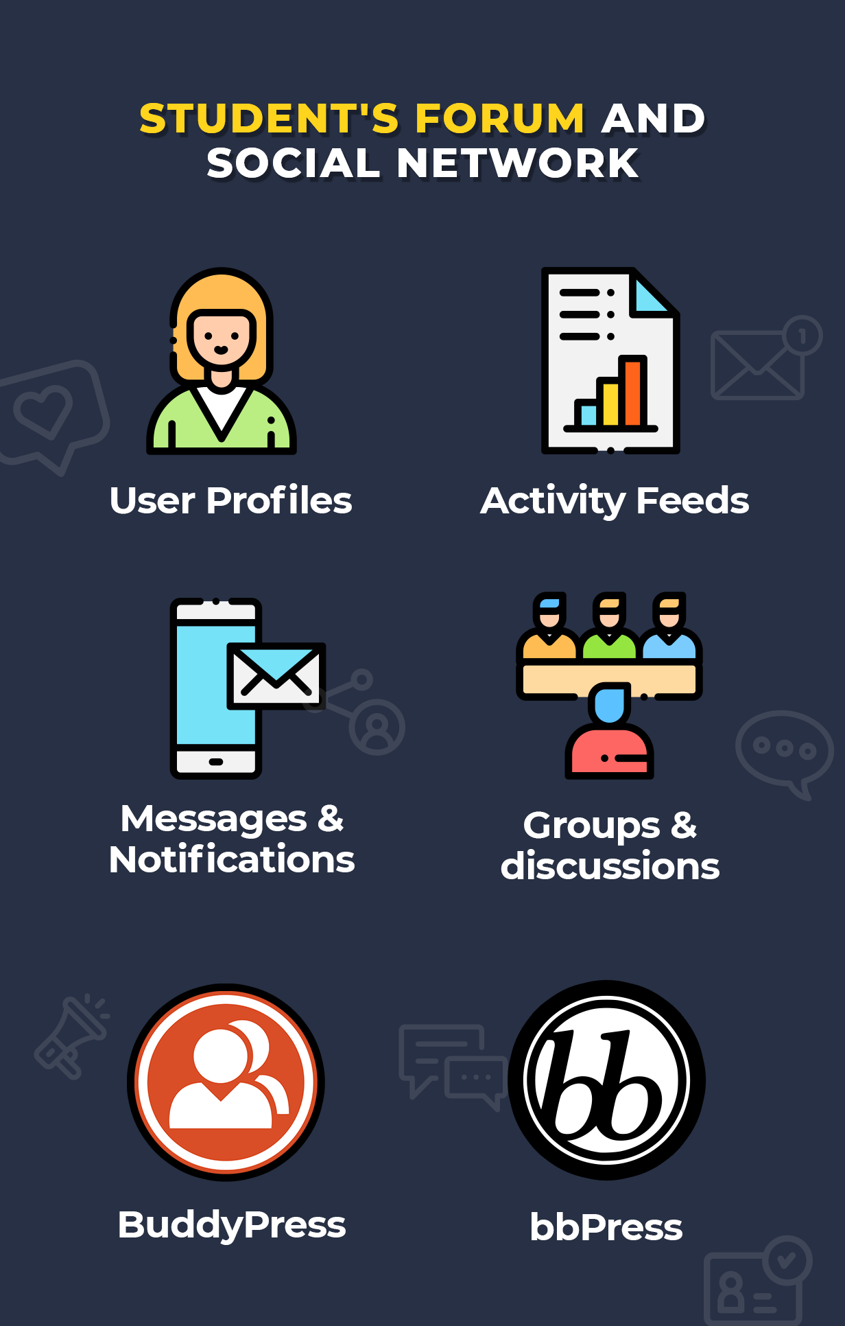 students forum and social network