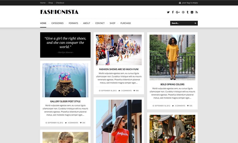 Blog website design - premium