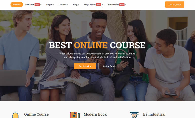 online learning website - learning management system